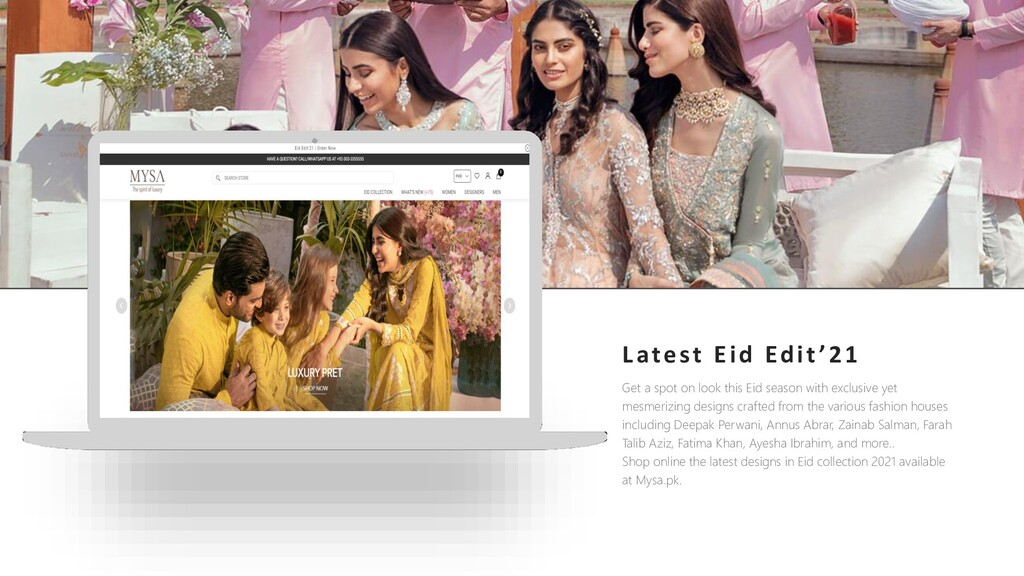 Visit our website Get a spot on look this Eid s...