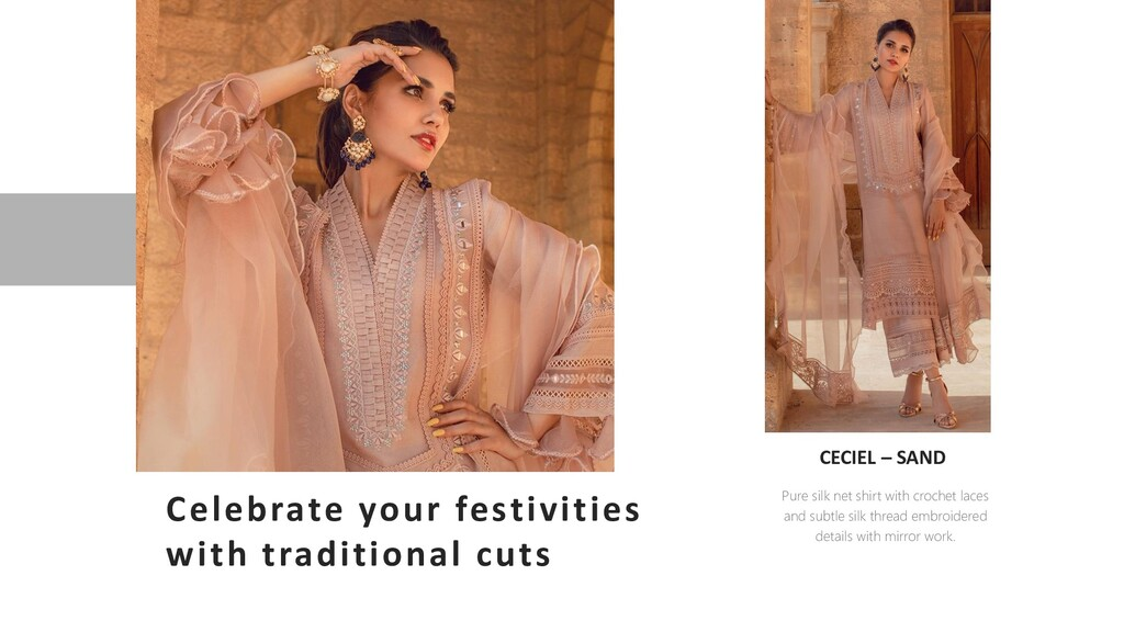 Celebrate your festivities with traditional cut...