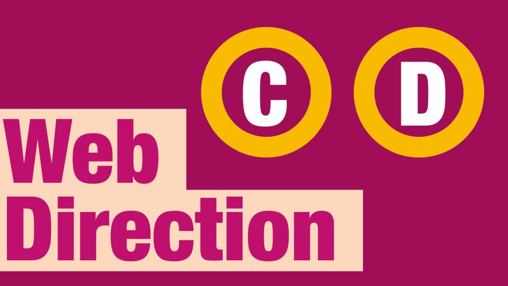 Web Direction C D