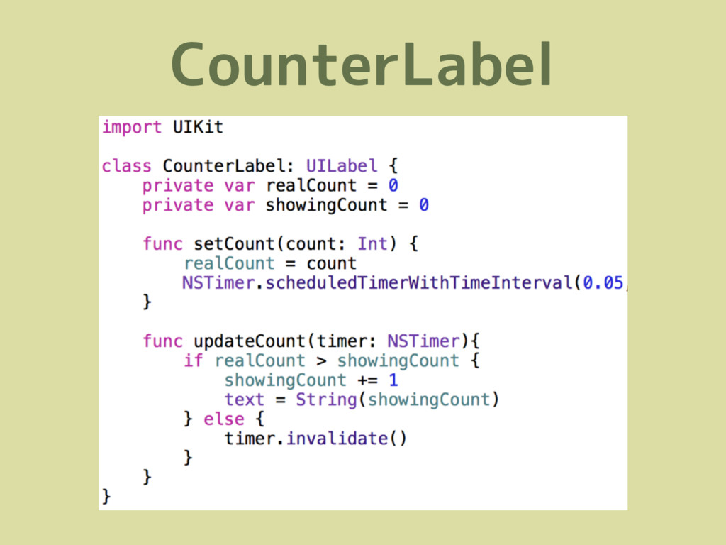 CounterLabel