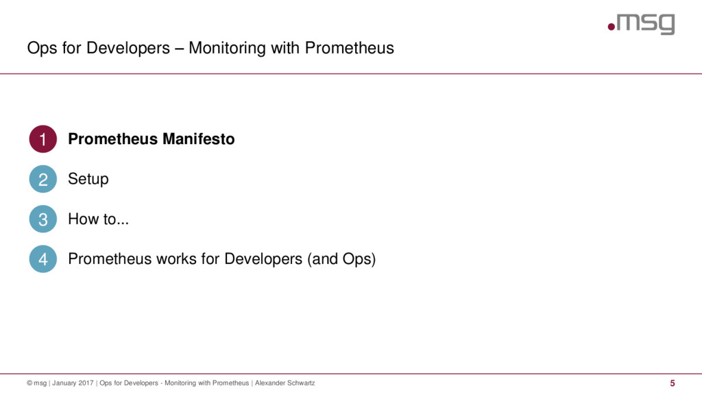Ops for Developers – Monitoring with Prometheus...