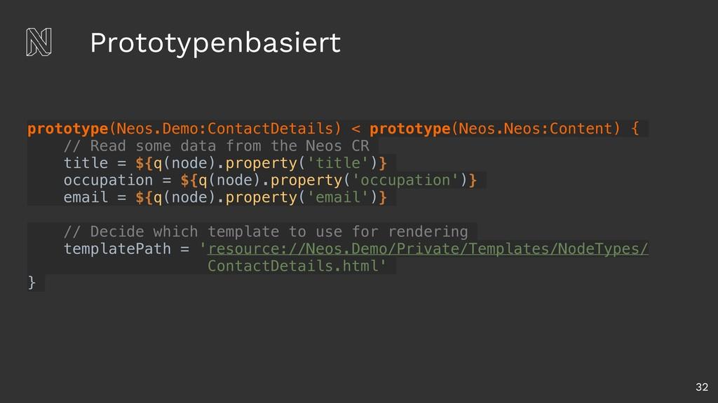 Prototypenbasiert 32 prototype(Neos.Demo:Contac...