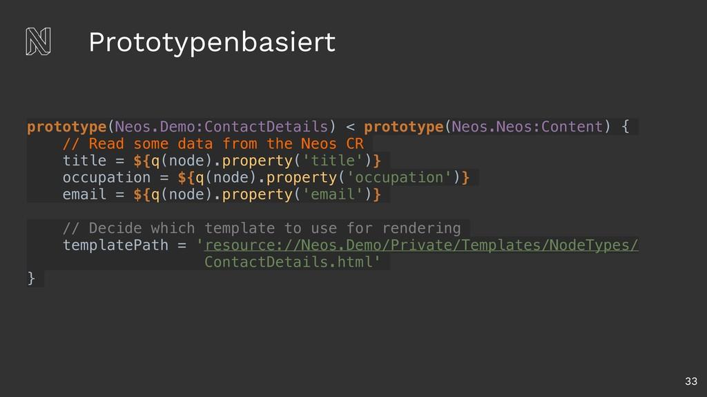 Prototypenbasiert 33 prototype(Neos.Demo:Contac...
