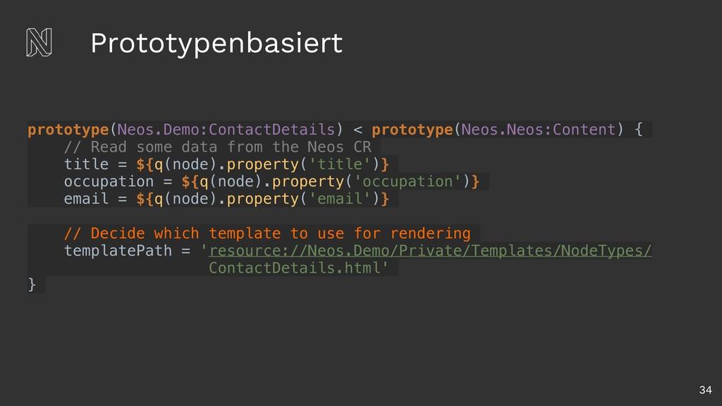 Prototypenbasiert 34 prototype(Neos.Demo:Contac...