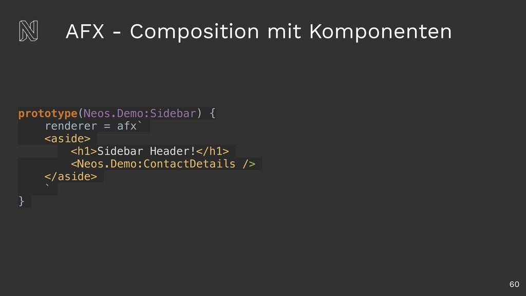 AFX - Composition mit Komponenten 60 prototype(...