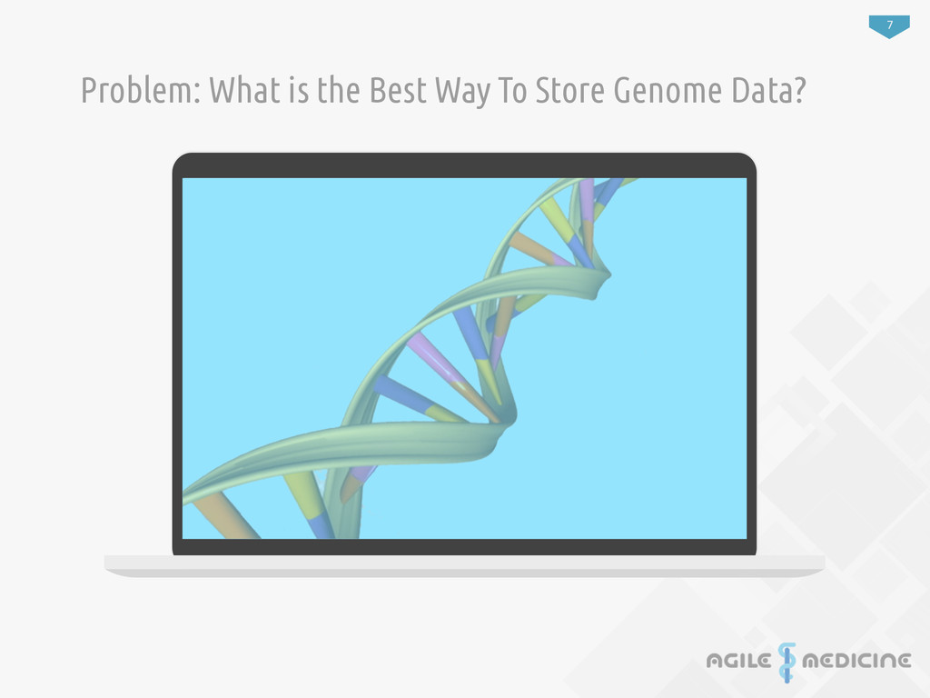 7 Problem: What is the Best Way To Store Genome...