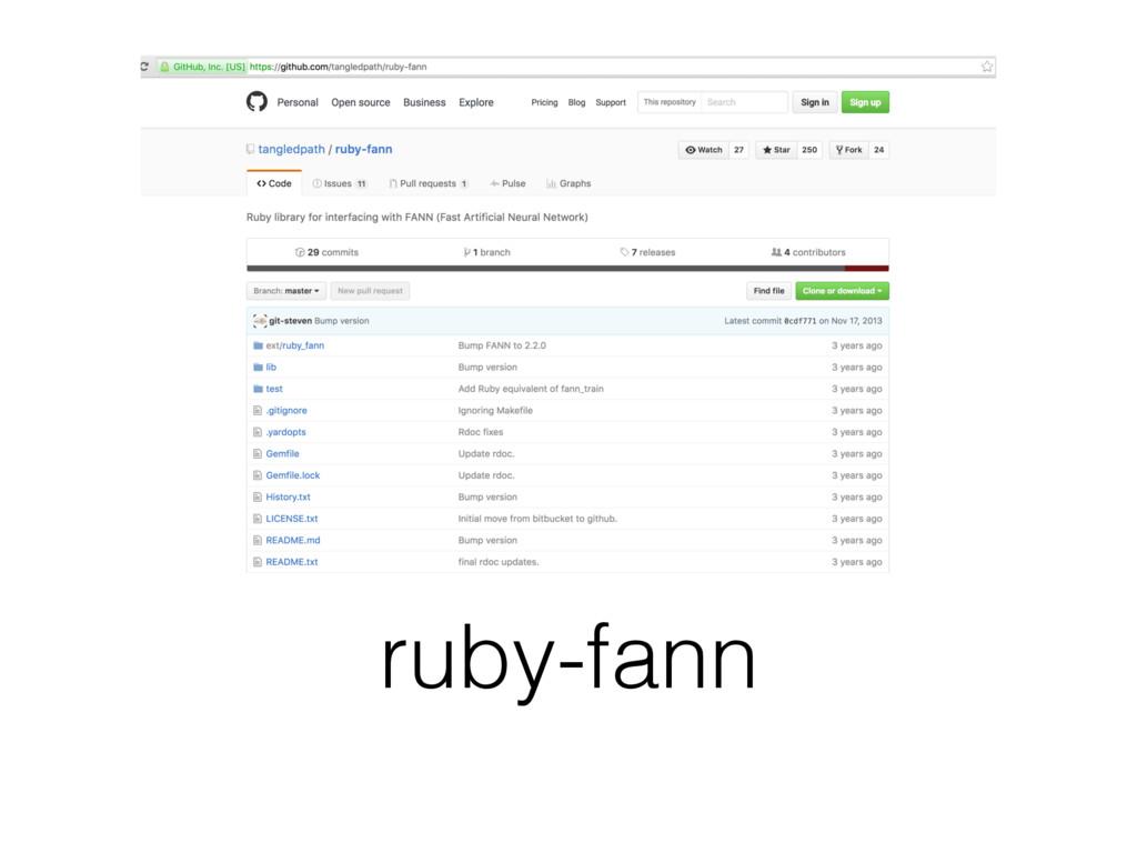 ruby-fann