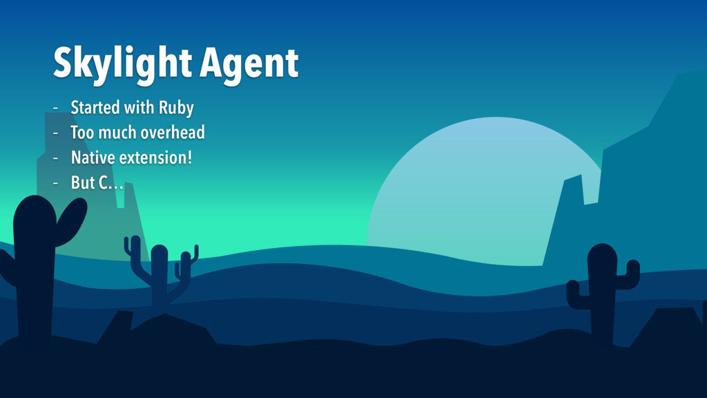 Skylight Agent – Started with Ruby  – Too much ...
