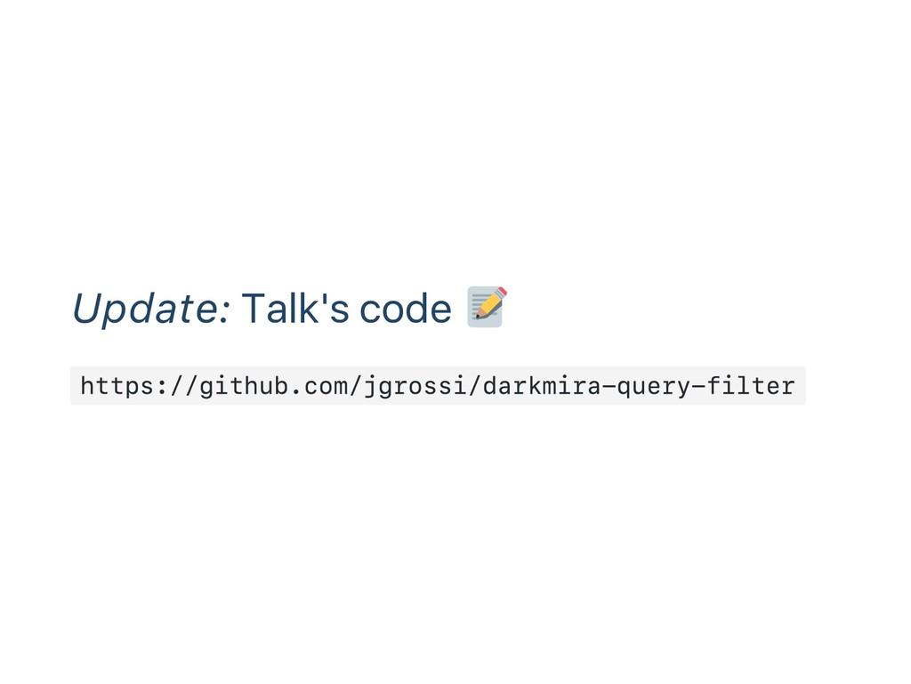 Update: Talk's code https://github.com/jgrossi/...