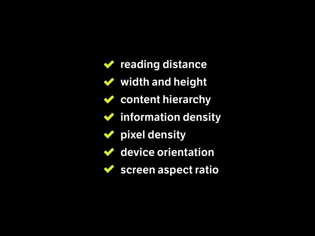 reading distance  width and height content hi...