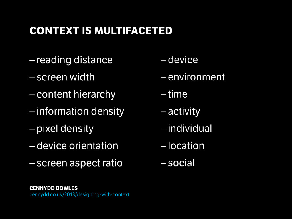 ! ! – reading distance – screen width – conte...