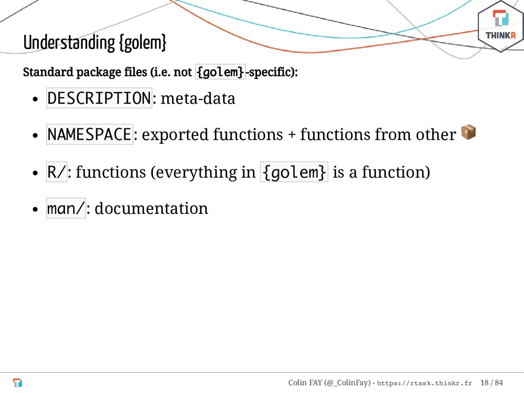 Understanding {golem} Standard package files (i...
