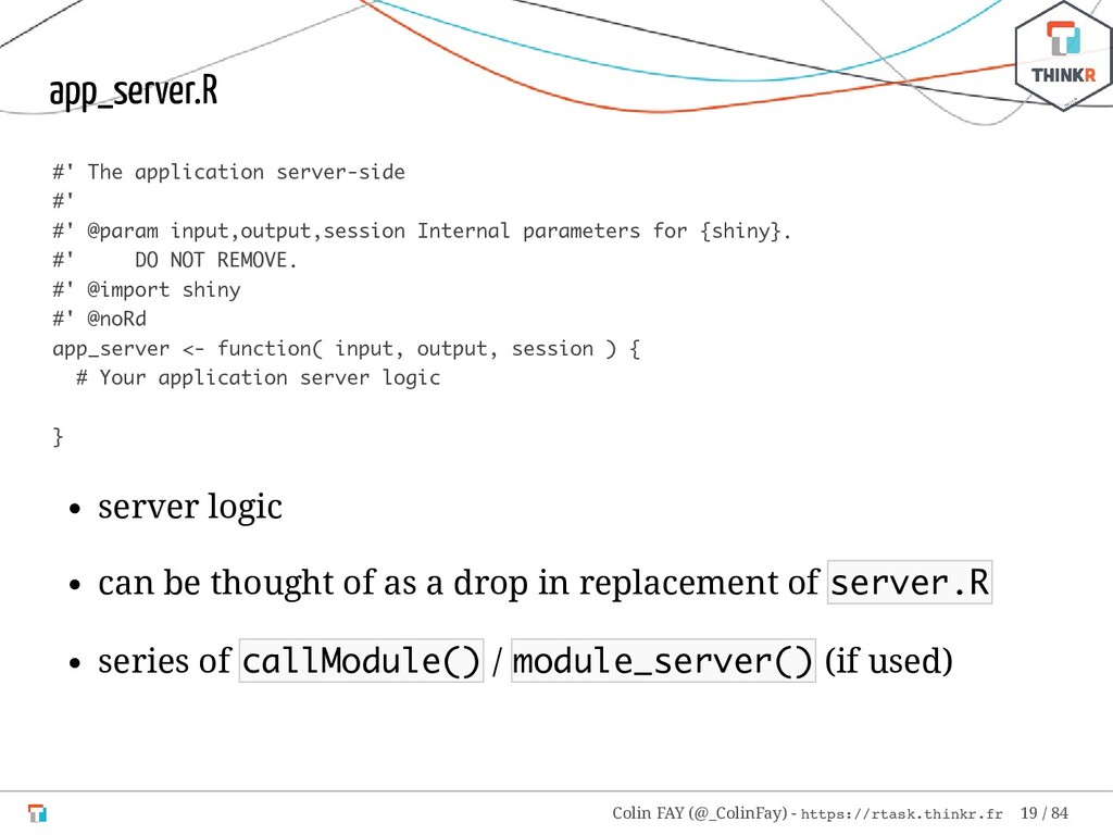 app_server.R #' The application server-side #' ...