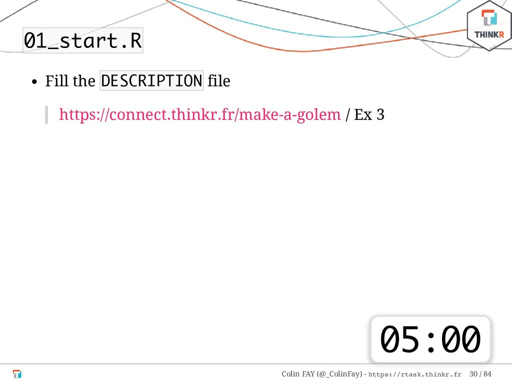 01_start.R Fill the DESCRIPTION file https://co...