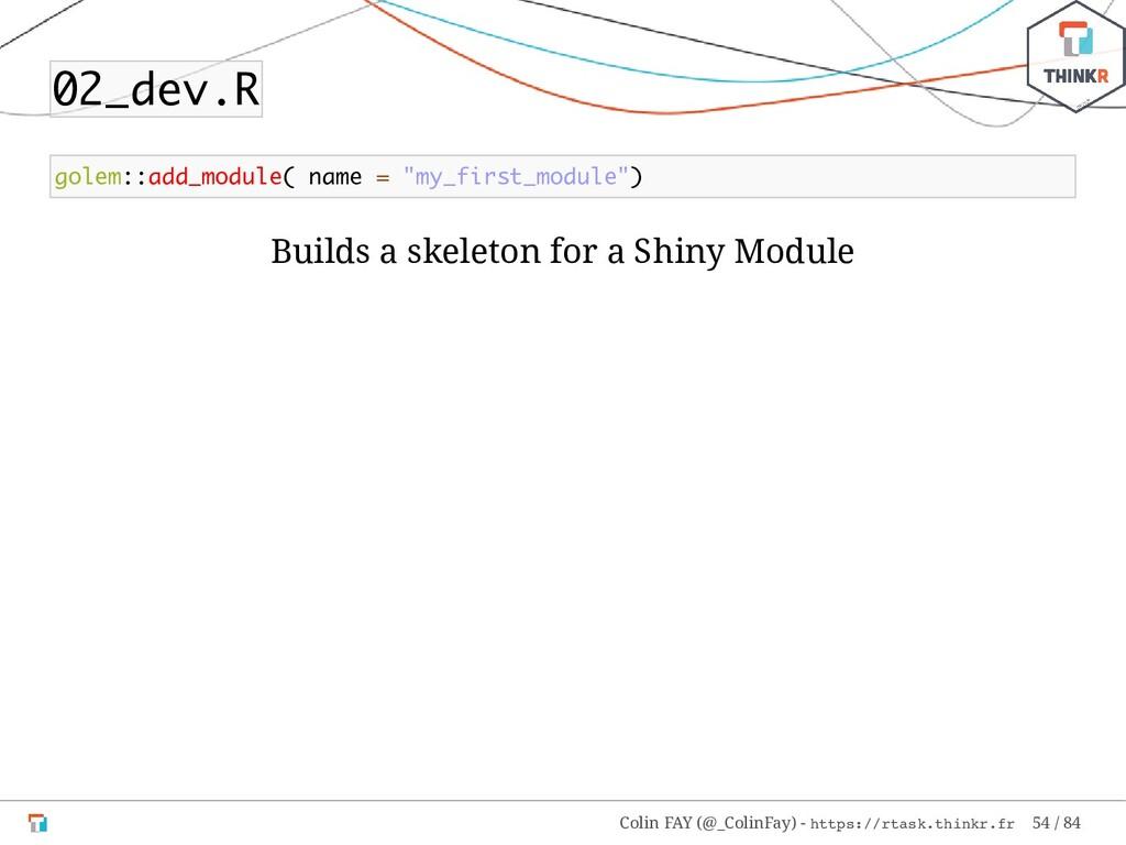 "02_dev.R golem::add_module( name = ""my_first_mo..."