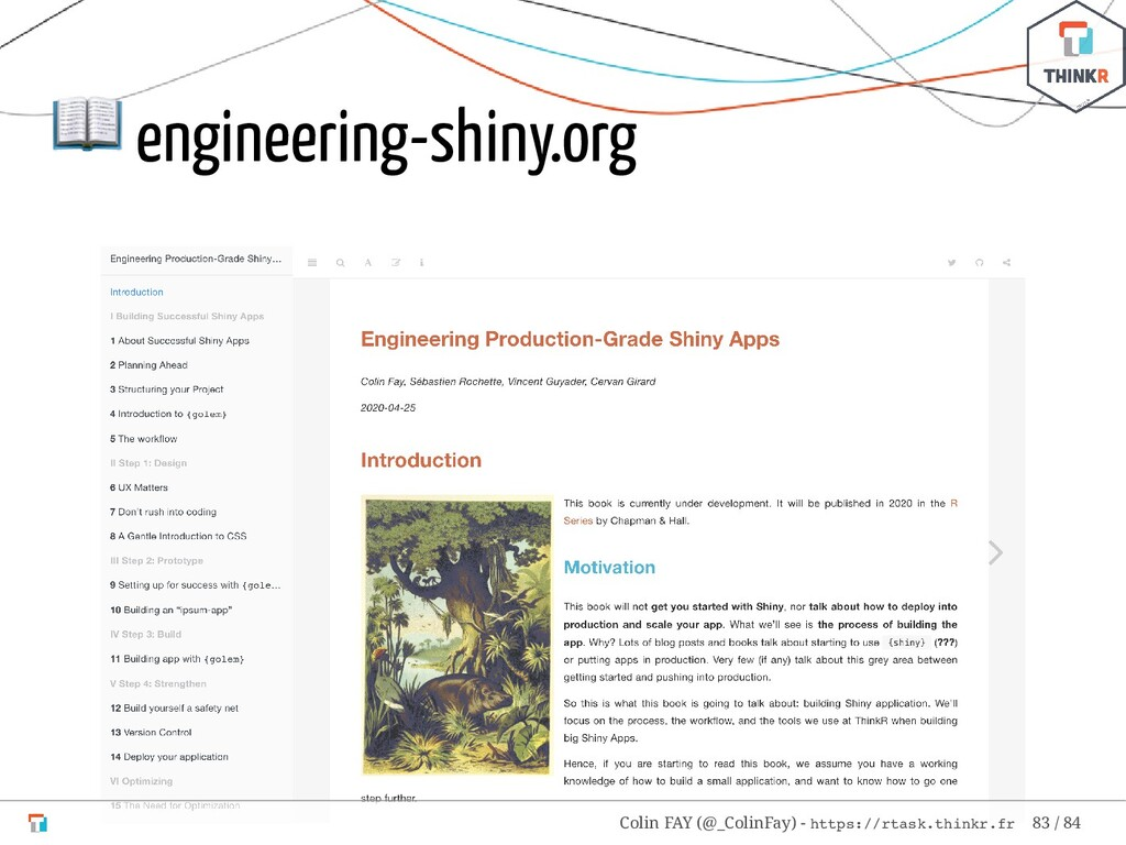 engineering-shiny.org Colin FAY (@_ColinFay) -...