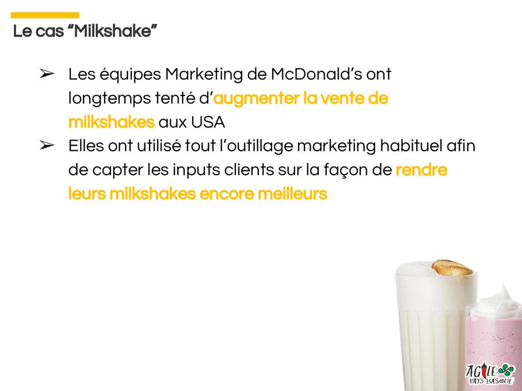 ➢ Les équipes Marketing de McDonald's ont longt...