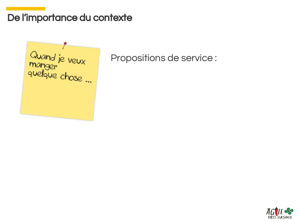 Propositions de service : De l'importance du co...