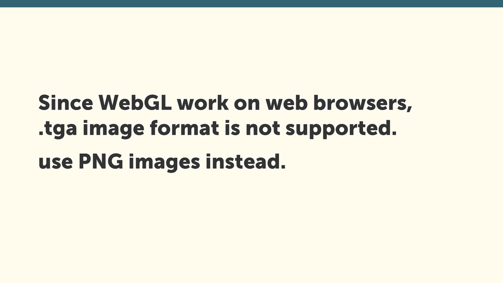 Since WebGL work on web browsers,
