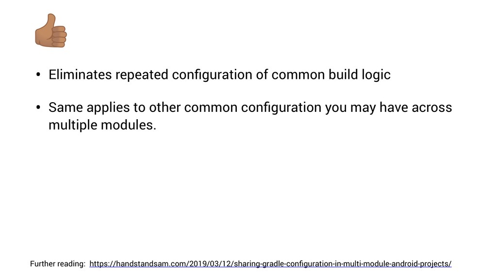 • Eliminates repeated configuration of common bu...