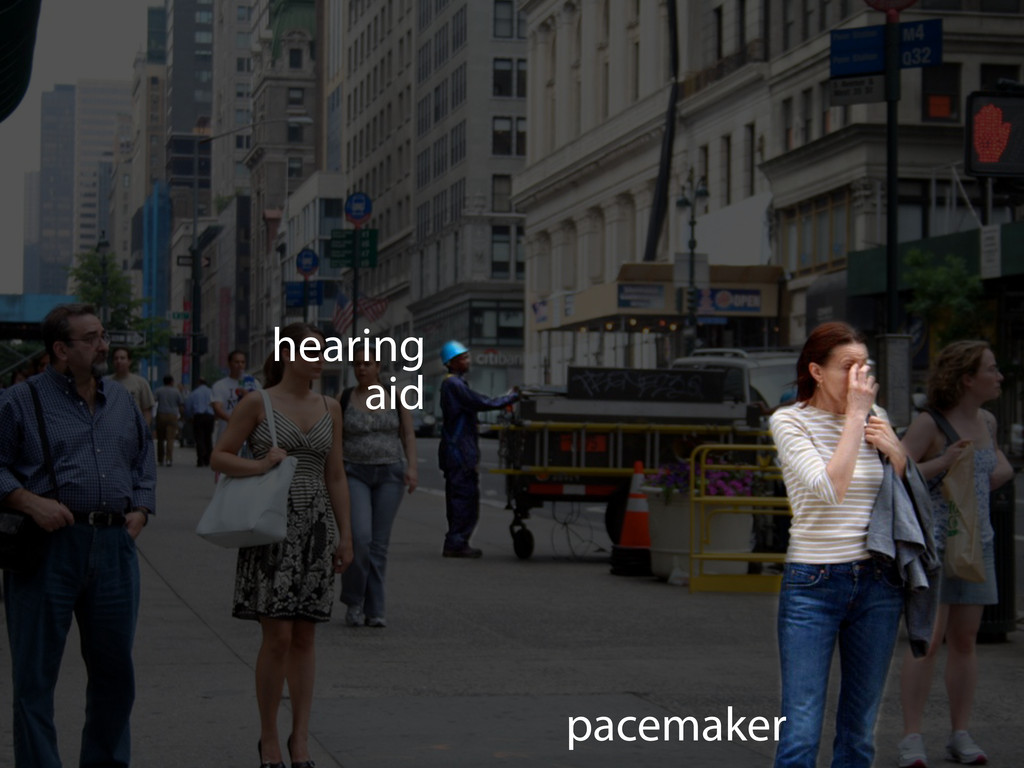 hearing aid pacemaker