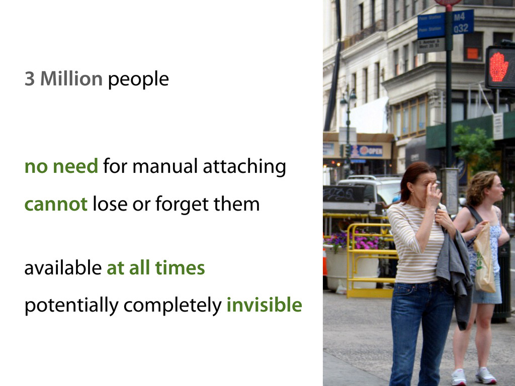 3 Million people no need for manual attaching c...