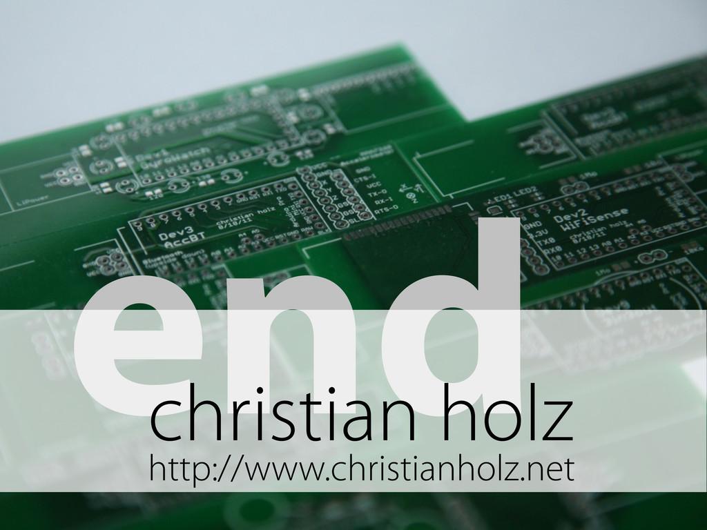 end christian holz http://www.christianholz.net
