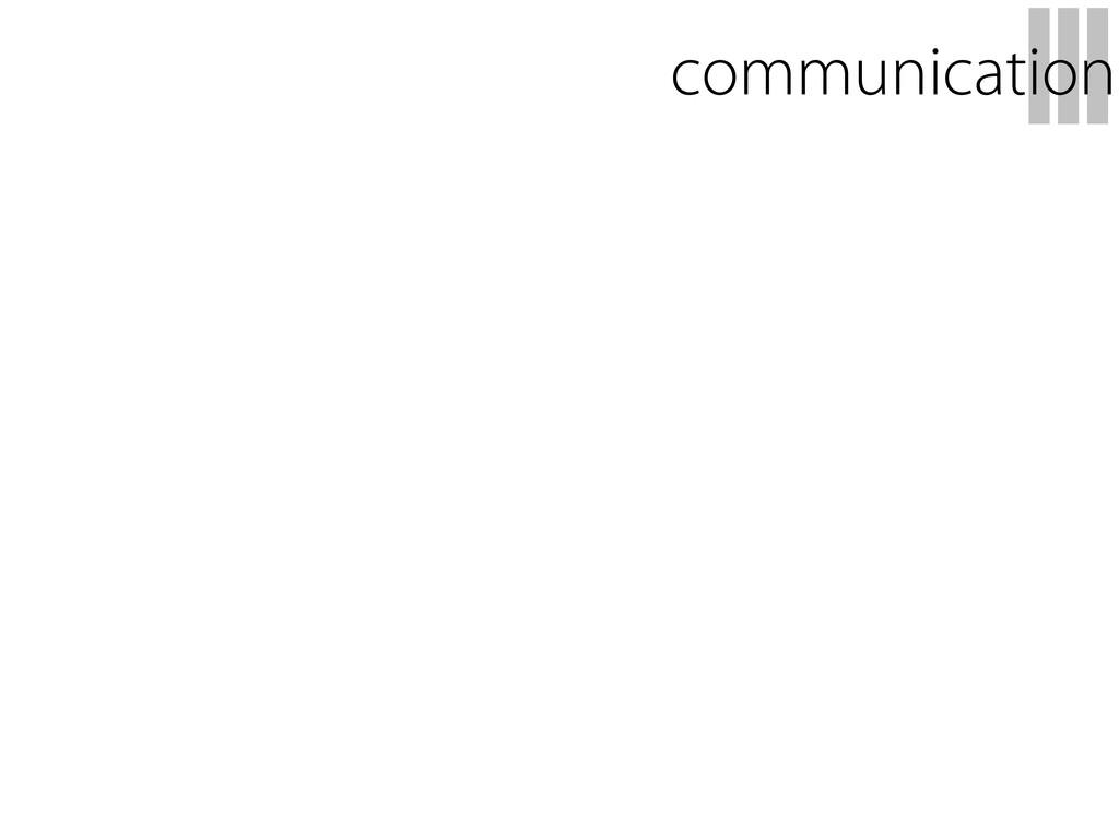 III communication