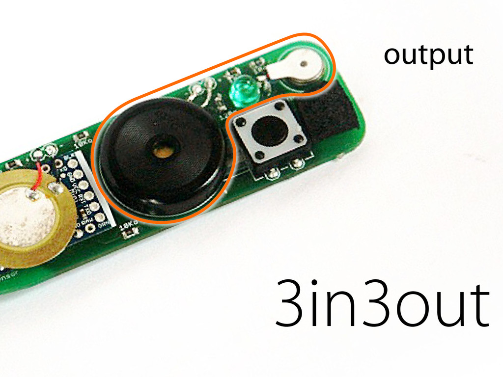 3in3out output
