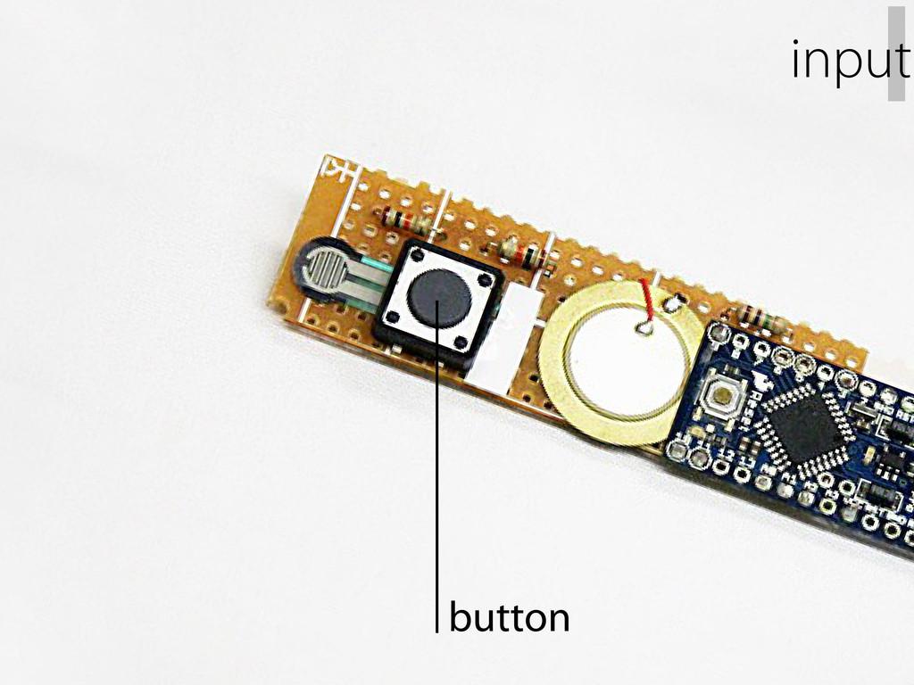 button I input