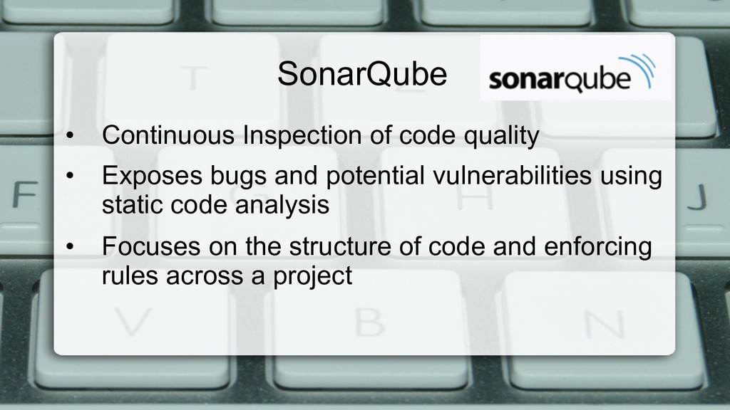 SonarQube • Continuous Inspection of code qual...
