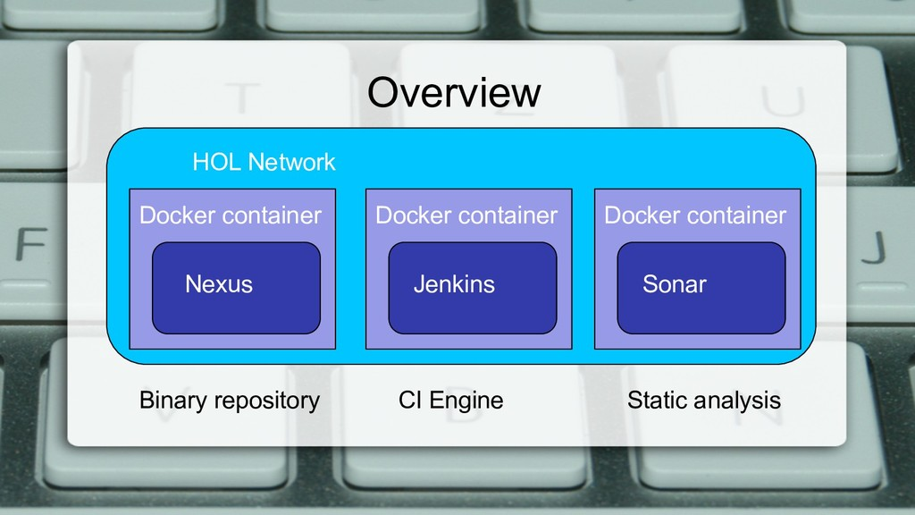 Overview HOL Network Docker container Nexus Doc...
