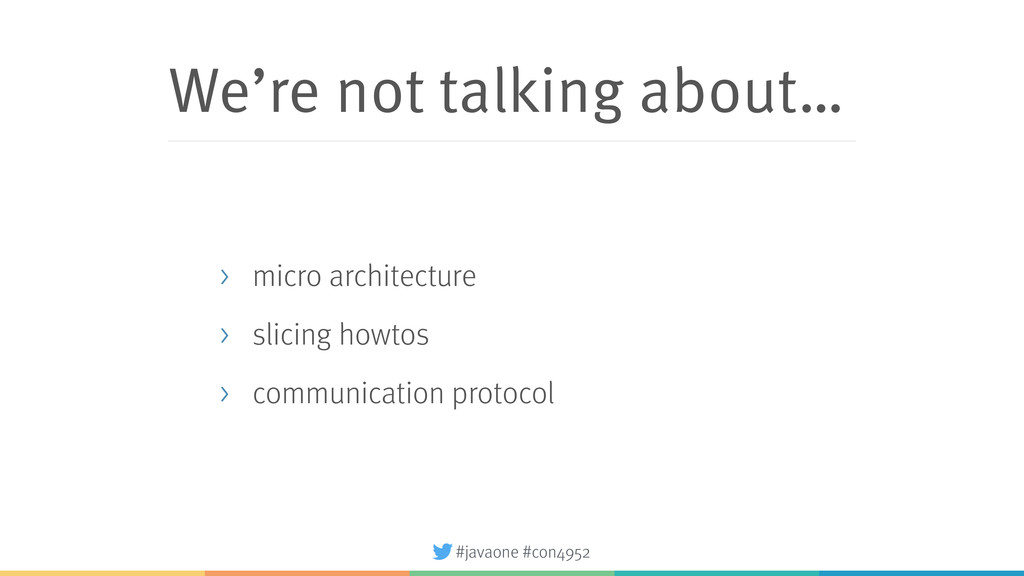 #javaone #con4952 We're not talking about… > mi...