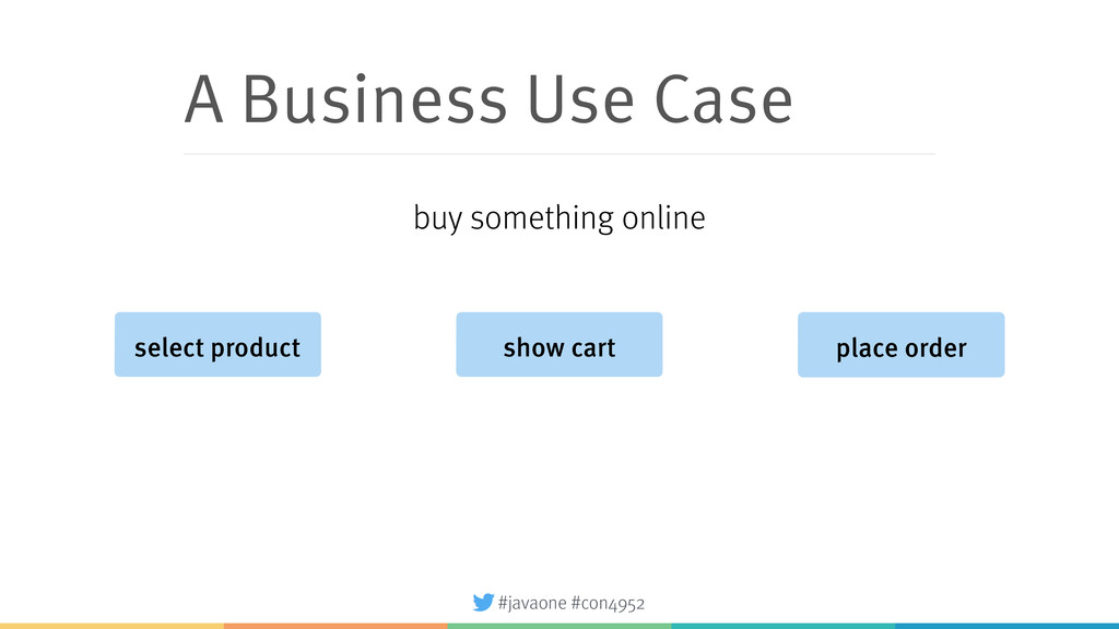 #javaone #con4952 A Business Use Case select pr...