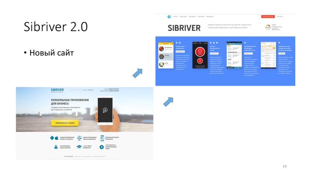 Sibriver 2.0 • Новый сайт 19