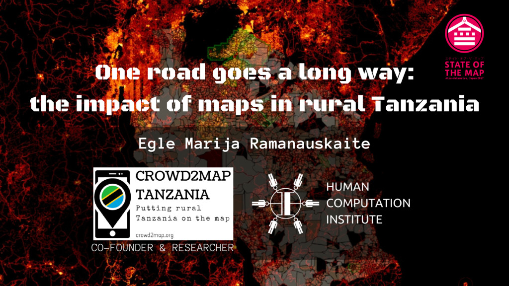 One road goes a long way: the impact of maps in...