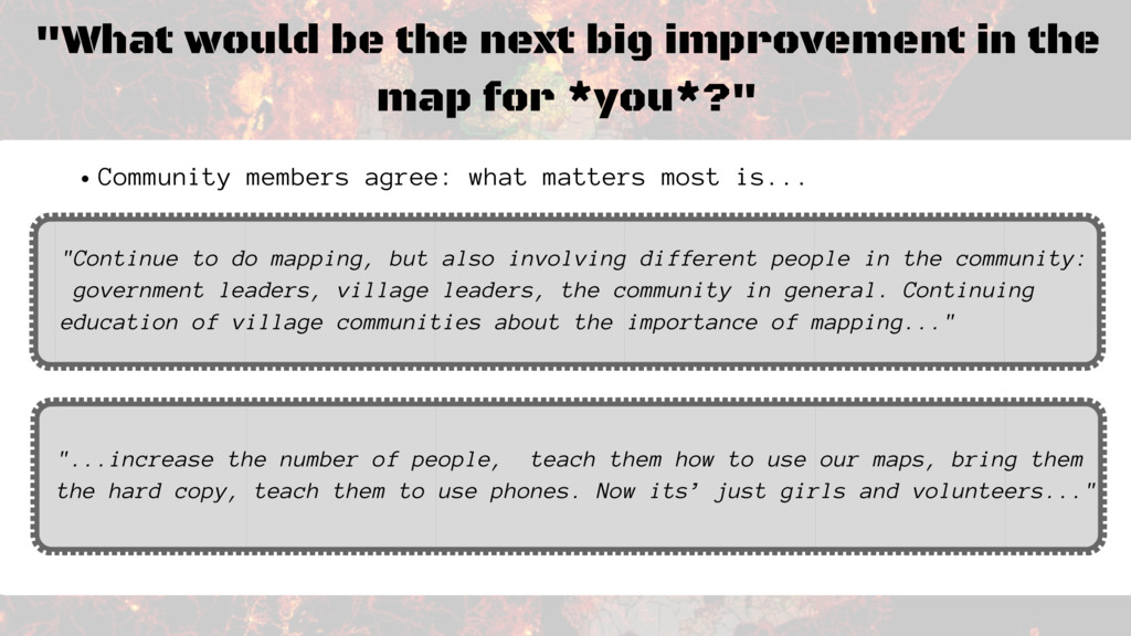 """What would be the next big improvement in the ..."