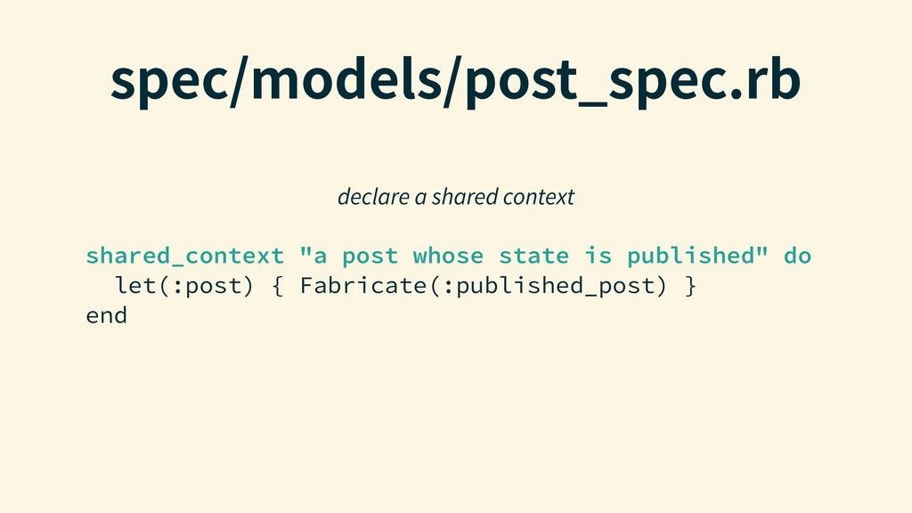 "TQFDNPEFMTQPTU@TQFDSC shared_context ""a post..."