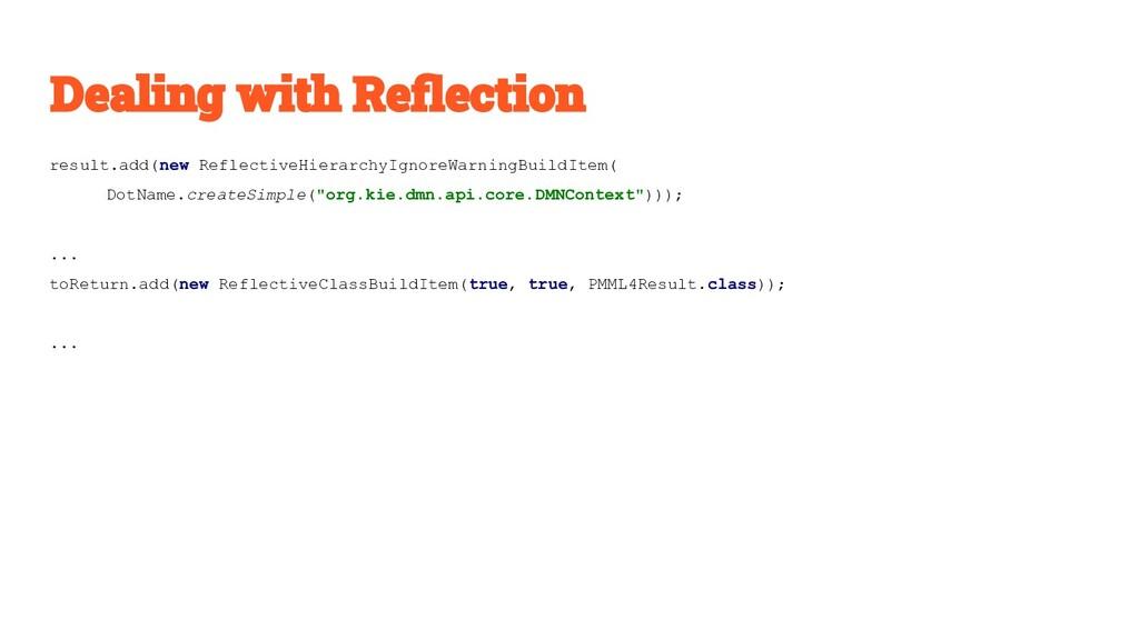 result.add(new ReflectiveHierarchyIgnoreWarning...