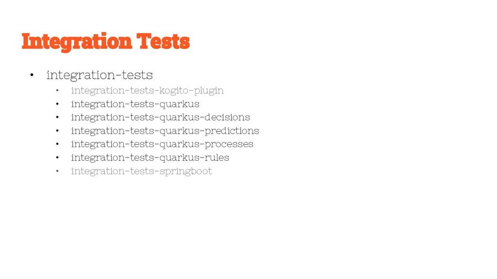 • integration-tests • integration-tests-kogito-...