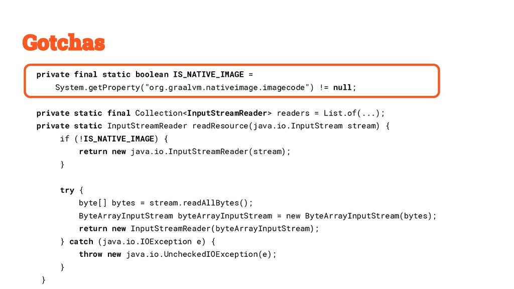 private final static boolean IS_NATIVE_IMAGE = ...