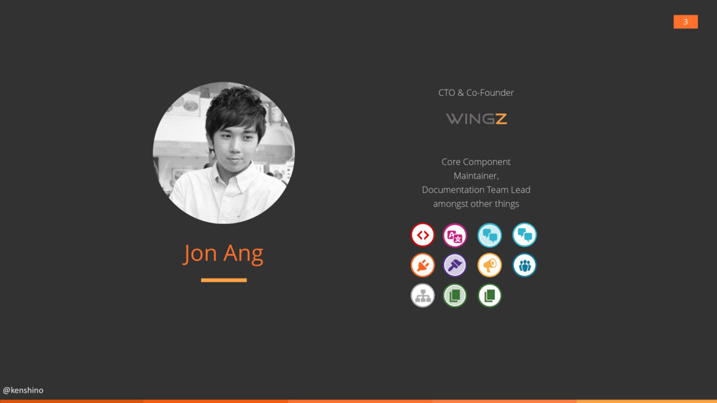 @kenshino Jon Ang Core Component Maintainer, Do...
