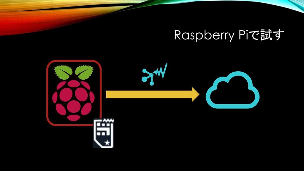 Raspberry Piで試す