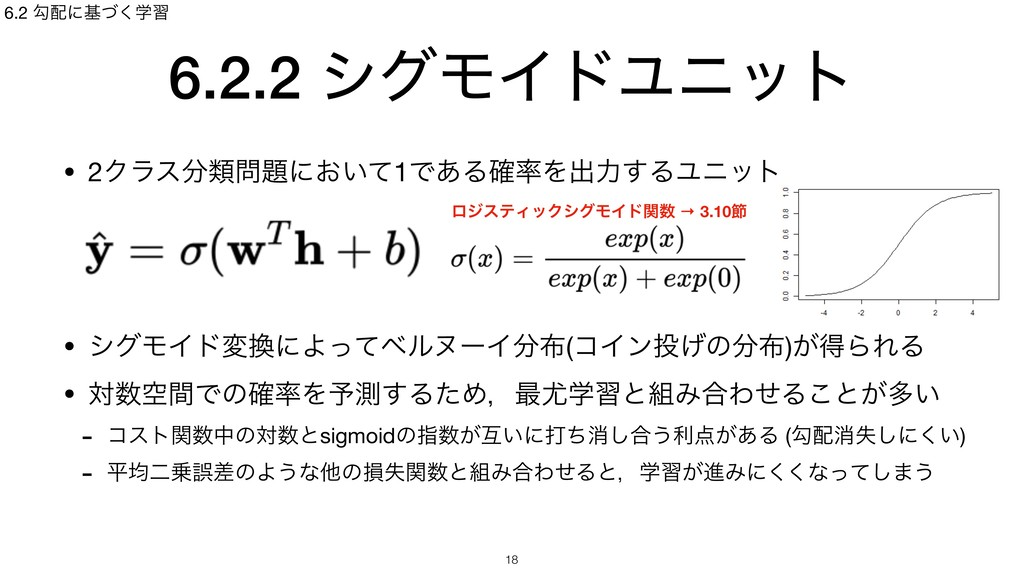 6.2.2 γάϞΠυϢχοτ • 2Ϋϥεྨʹ͓͍ͯ1Ͱ͋Δ֬Λग़ྗ͢ΔϢχοτ  ...