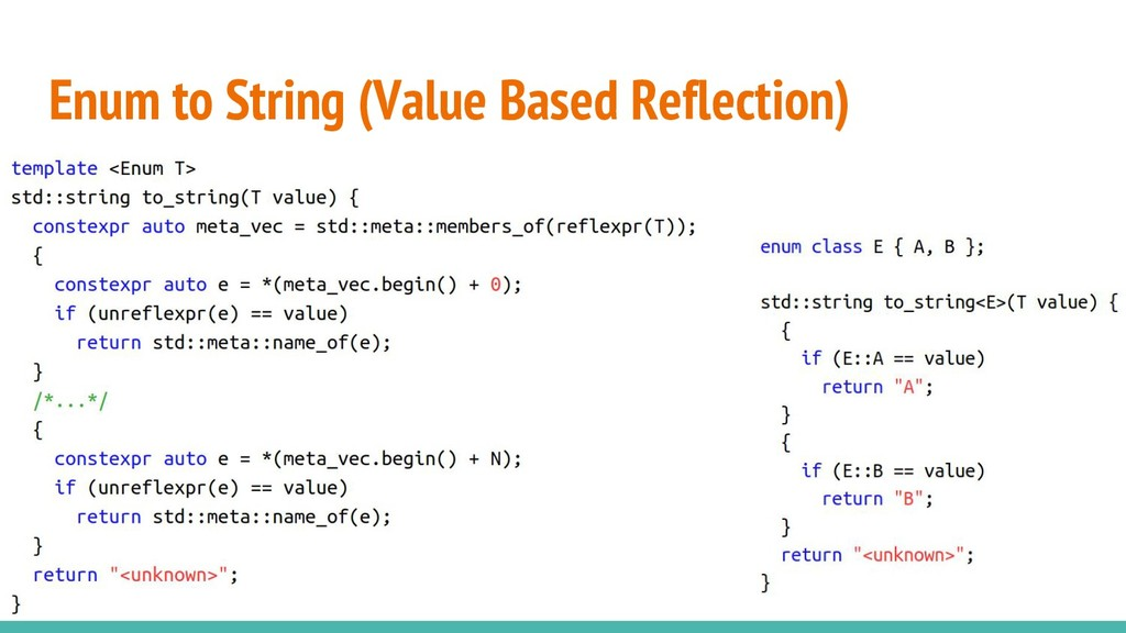 Enum to String (Value Based Reflection)