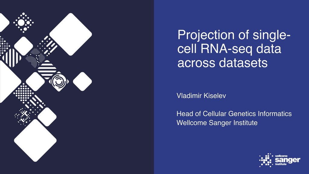 Projection of single- cell RNA-seq data across ...