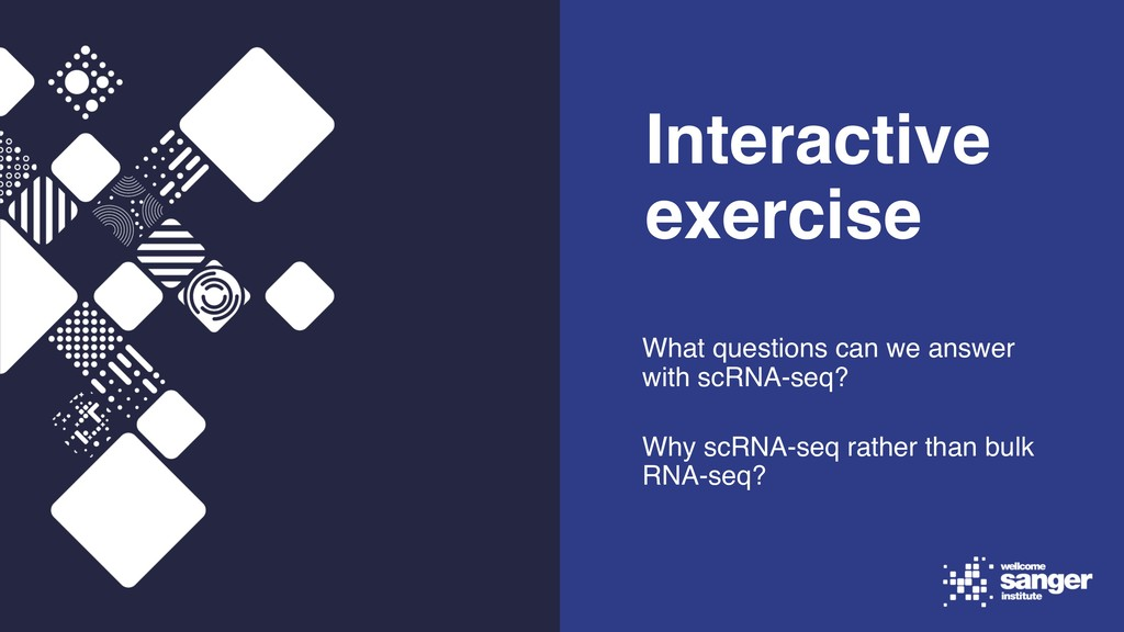 Interactive exercise What questions can we answ...
