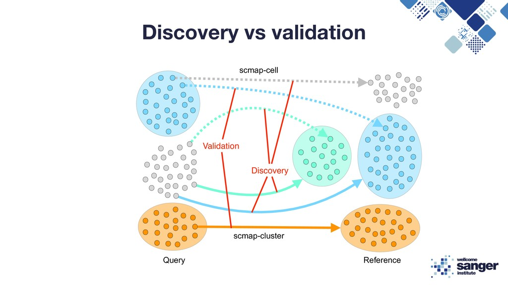 Discovery vs validation Query Reference scmap-c...