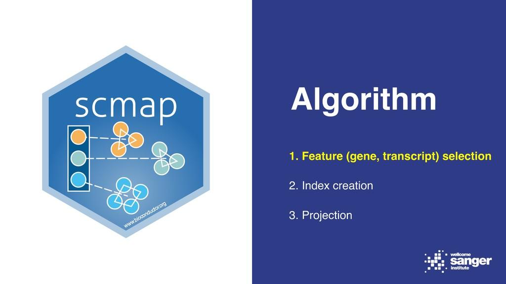 Algorithm 1. Feature (gene, transcript) selecti...