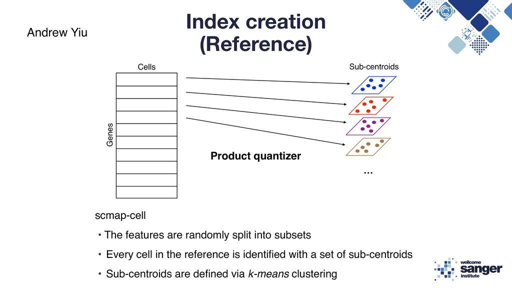 Index creation (Reference) scmap-cell • The fea...
